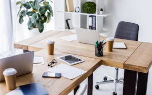 Desk-in-Office